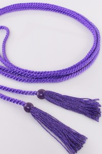 Cingulum with violet tassels