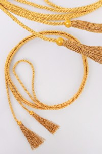 Cingulum with gold tassels