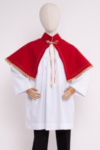 Short pelerine for altar...