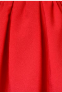 Fabric: Red