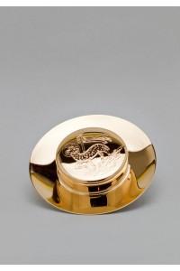 The brass paten 519