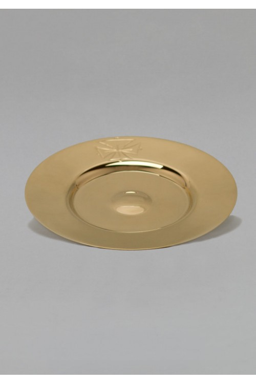 The brass paten 518