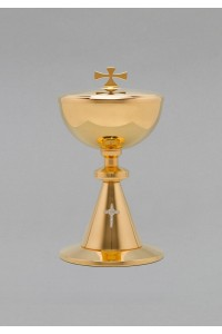 The brass chalice and tin 551
