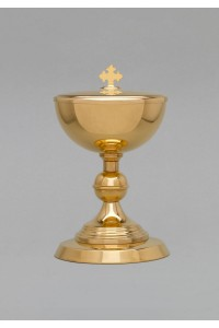 The brass chalice and tin 541