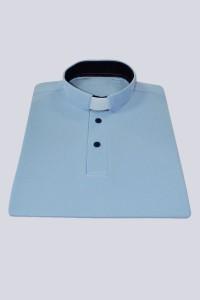 Polo shirt: light blue [KUS]