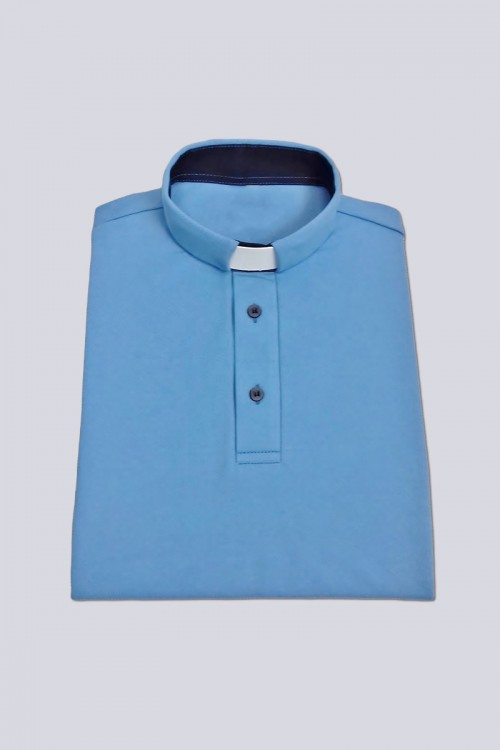 Polo shirt with buttons:...
