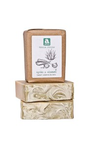 Soap with aloe vera
