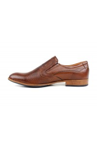 Slip-on shoes with brown...