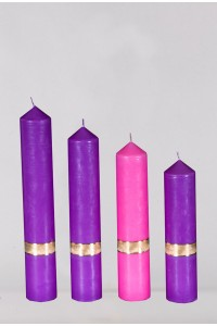 Advent candle set [A2]