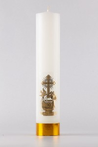 Baptism - altar candle [CH3]