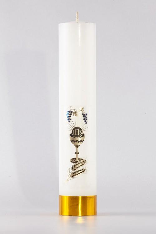 Communion - altar candle [K9]
