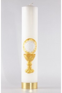 Communion - altar candle [K5]