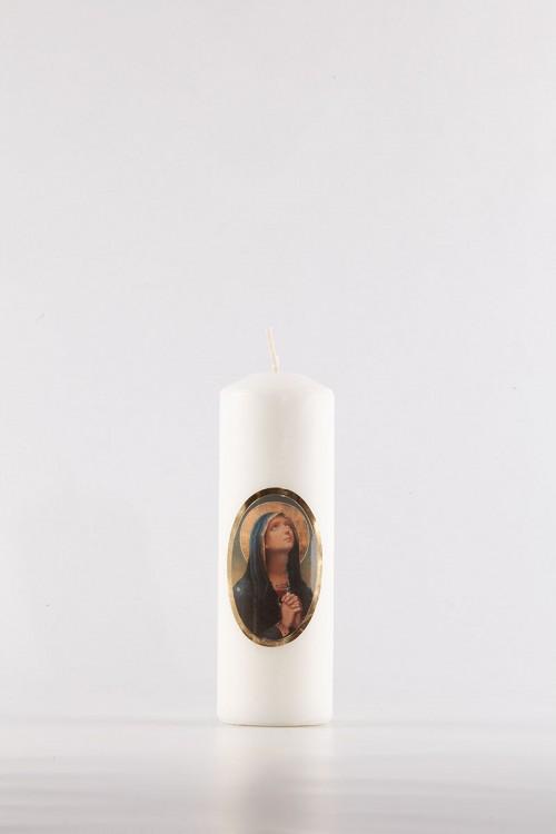 Festive candle [Os-10]