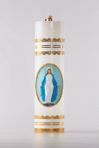 Altar candle made of oil [OL-1]