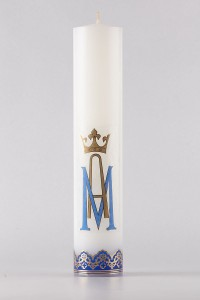 The altar candle of Mary [O-17]