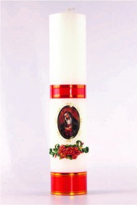 The altar candle of Mary [O-12]