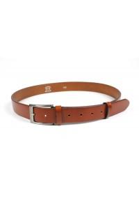 Reddish brown leather belt...