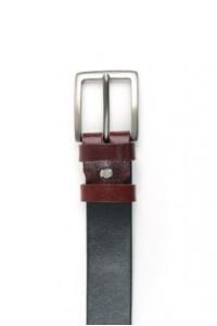 Black-rose leather belt...