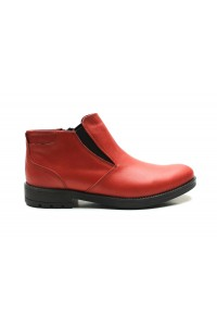 Red Jodhpur boots for winter