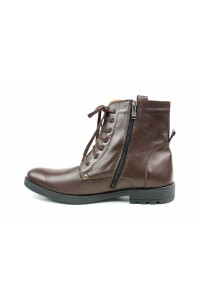 Dark brown hiking boots for...