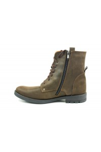 Olive hiking boots for winter