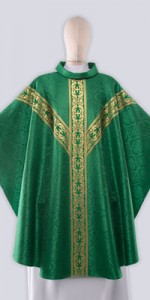 Green Chasubles with Ornaments - Chasubles - Liturgical-Clothing.com