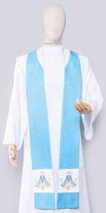 Marian Stoles - Stoles - Liturgical-Clothing.com