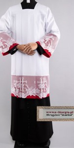 Surplices with Lace - Surplices for Prelates - Robes for Prelates - Liturgical-Clothing.com