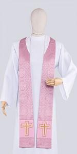 Pink Stoles - Stoles - Liturgical-Clothing.com