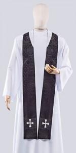 Black stoles - Stoles - Liturgical-Clothing.com