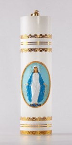 Altar candles made from oil - Candles - Liturgical-Clothing.com