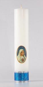 Marian altar candles - Candles - Liturgical-Clothing.com