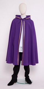Long Pelerines with a Hood - Readers and Altar Servers - Liturgical-Clothing.com