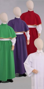 Sets for Altar Servers - Readers and Altar Servers - Liturgical-Clothing.com
