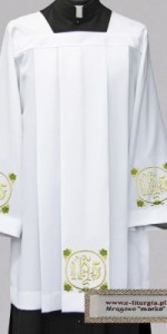 Surplices with Embroidery - Priests' Surplices - Liturgical-Clothing.com