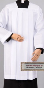 Plain Surplices - Priests' Surplices - Liturgical-Clothing.com