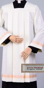Surplices with Ornaments - Priests' Surplices - Liturgical-Clothing.com