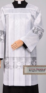 Christmas Surplices - Priests' Surplices - Liturgical-Clothing.com