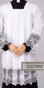 Surplices with Lace Motifs - Priests' Surplices - Liturgical-Clothing.com