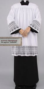 Surplices with Guipure Lace - Priests' Surplices - Liturgical-Clothing.com