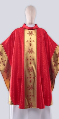 Red Chasubles with Ornaments