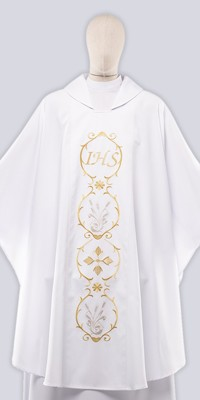 Ceremonial Chasuble with Embroidery