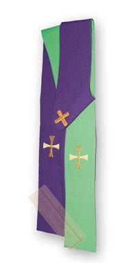 Double-sided stoles