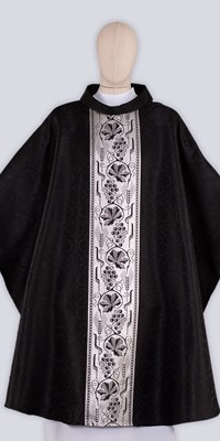 Black Chasubles with Ornaments