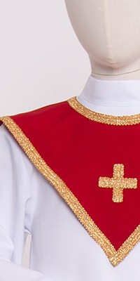 Triangular collars for choirs 1